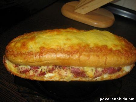 Батон в духовке рецепт с фото